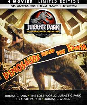 Jurassic Park 25th Anniversary Collection 4k Ultra Hd Bd Screen Caps Movieman S Guide To The Movies